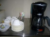 ★フリードリンクのコーヒー★和食でも洋食でも自由にお飲みいただけます