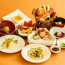 *【夕食:和洋会席膳】(一例)和と洋の料理長が考える月替りコース