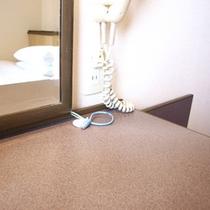 全室Wi-Fi完備(有線LANも設置しております。)