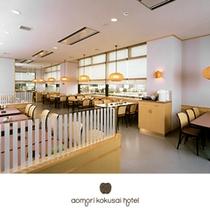 青森空港内2階・ホテル直営レストラン【ひば】