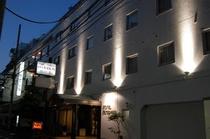 ホテル・ライトアップ(夜景)