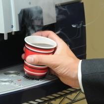 ウエルカムコーヒー(5Fで15時〜24時、翌朝6:30〜10時まで)