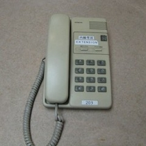 ★室内内線電話★フロントや各部屋につなげます