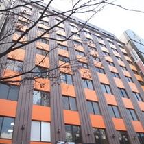 ホテルエコノ名古屋栄外観
