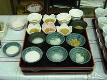 無料朝食(和食ミニバイキング)7