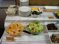 無料朝食(和食ミニバイキング)6