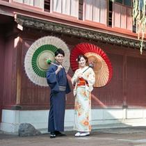 新たにカップルプランが登場。お二人で和装に着替えて日本の和に触れる旅に出かけませんか。