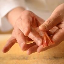 旬魚の握り寿司