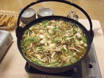 夕食の一例(季節の鍋)