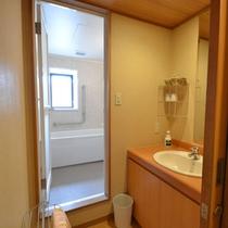 【アネックス淡海】和室・洗面所
