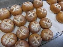 朝食手作りパン