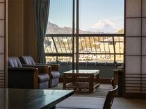 富士山側客室 和室12畳+広縁