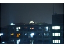 彦根城夜景
