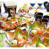 大皿料理イメージ