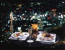 70階シリウスにてディナーは夜景とともに ○イメージ○