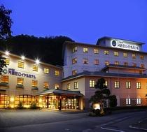ホテル外観ライトアップ