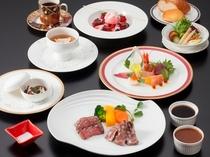 「飛騨牛&宮崎牛のグリル 食べくらべフレンチ」 イメージ