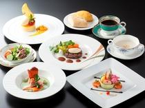 鮎、オマール海老と夏野菜&牛フィレ肉のグリル「夏めぐりコース」(イメージ)