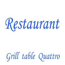 -Grill table Quattro-