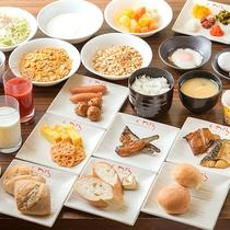-朝食バイキング-