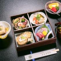 【花松堂弁当】美山の美味しい旬の素材を活かしたお弁当をお楽しみください。