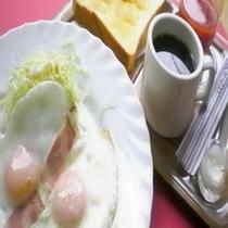 朝食一例:Bセット