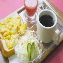 朝食一例:Aセット