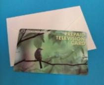 有料テレビカード