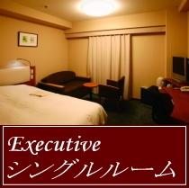 エグゼクティブシングル(8室限定) / 大人気!140cmのダブルベッドの入った18㎡広めのシングル