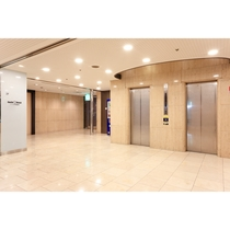 館内施設―1階エレベーターエリア