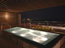 3階・露天風呂(男性用・夜)