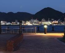 対岸 門司港の夕景