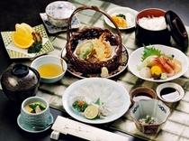 1泊2食海峡御膳プランの夕食写真(イメージ)
