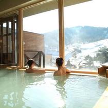 【温泉】大浴場からの眺め