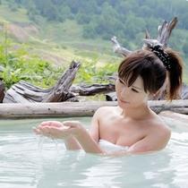 【温泉】お肌すべすべ