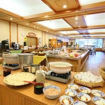 【食事】朝食バイキング「あけびの実」