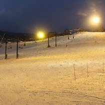 1:1万座温泉スキー場