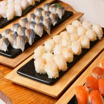 【食事】にぎり寿司