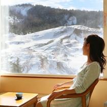【客室】空吹一望和室からの眺め