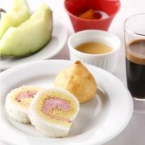 【食事】デザートもいっぱい♪