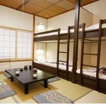 和室6畳2段ベッド(202)
