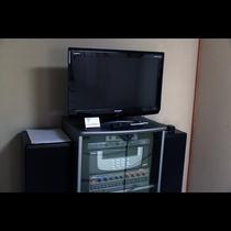 当館では全室にテレビがあります