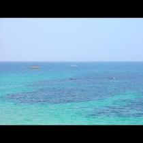 日本海の海はきれいです!!