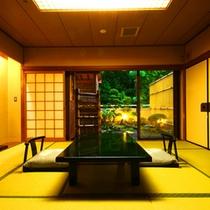 【露天風呂付客室一例】上質な寛ぎを提供いたします。