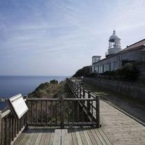 美保関灯台(石碑)