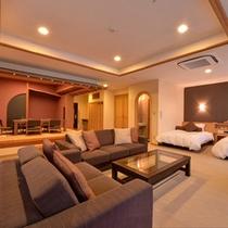 *【クラッセ特室一例】御家族や御仲間など、大人数での御滞在に最適な快適空間です☆