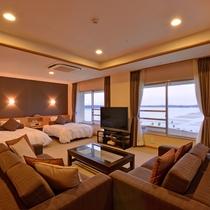 *【クラッセ特別室一例】抜群の景観と共に優雅な時間をお過ごしください☆