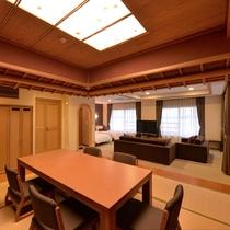 *【クラッセ特別室一例】室内の小上がりは癒しの畳スペース♪
