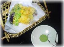 メギスの天ぷら