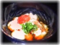 鱈の白子酢